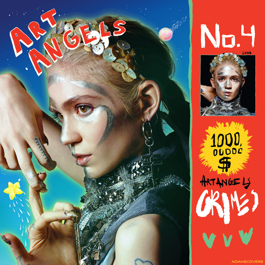 Grimes Art Angels 2015 Altamont